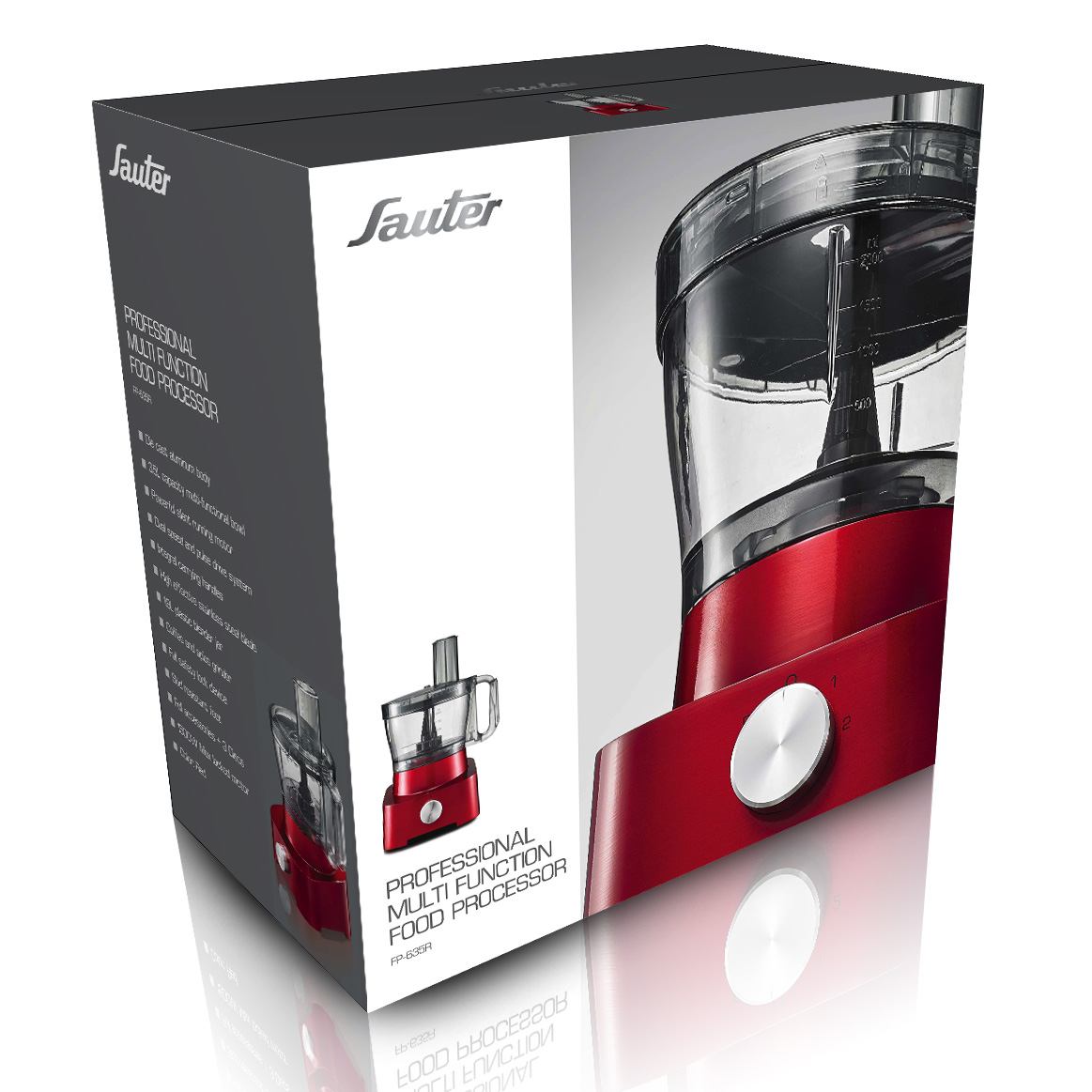Sauter Food Processor giftbox design
